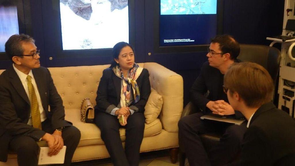 Puan Gandeng Google Cultural Institute untuk Lindungi Hak Cipta di RI