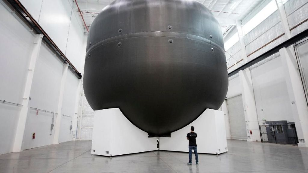 Menengok Perkembangan Hyperloop dan Roket Mars Elon Musk