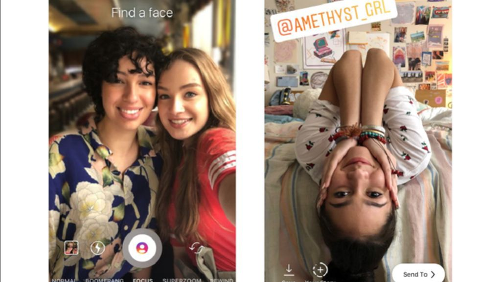Instagram Rilis Mode Bokeh dan Mention Stiker