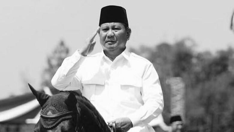 Siap Nyapres, Prabowo Diarak Telanjang Dada Usai Rakornas
