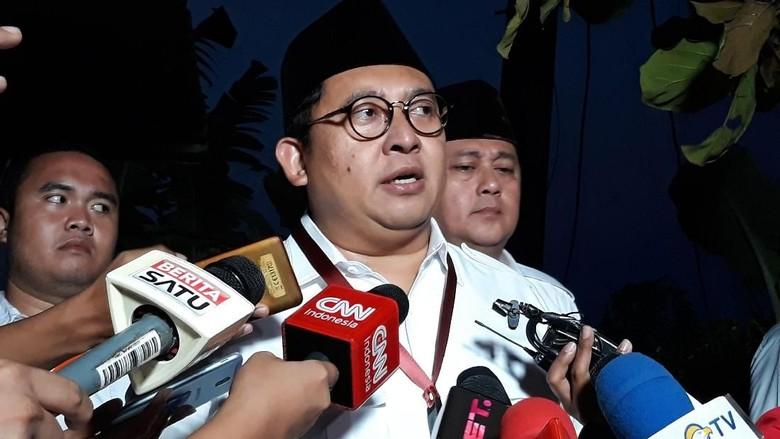 Fadli Zon Tepis Prabowo akan Berikan Tiket Capres ke Gatot