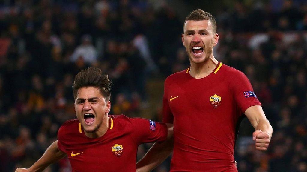 Dzeko: Di Roma Saya jauh Lebih Oke daripada Saat di City