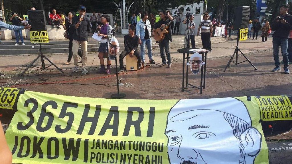 Petisi Online Diluncurkan, Desak Jokowi Bentuk TGPF Kasus Novel