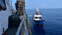 KKP Tangkap 2 Kapal Pencuri Ikan Asal Filipina di Perairan Sulawesi