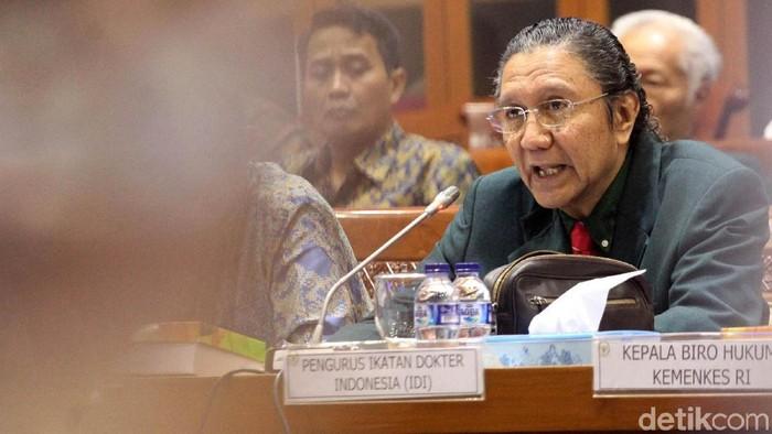 Ketua IDI Prof Ilham Oetama Marsis, SpOG (Foto: Lamhot Aritonang)