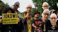 Setahun Digantung, Pendukung Novel Gelar Aksi di Istana