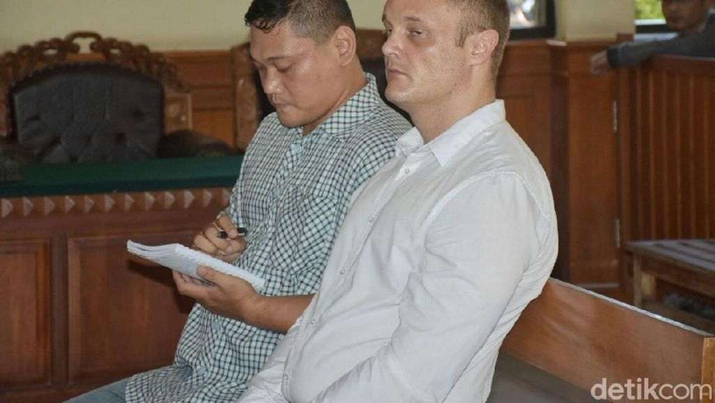 Bawa Sabu 20 Gram, WN Australia Divonis Rehabilitasi di Bali