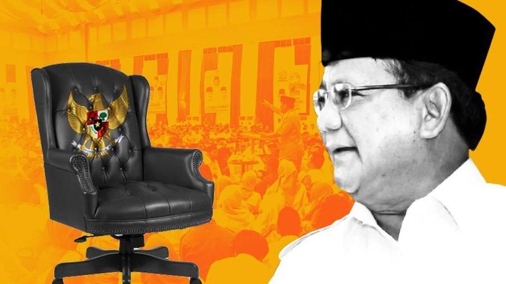 Prabowo Pertimbangkan Dua Nama Ini sebagai Cawapres