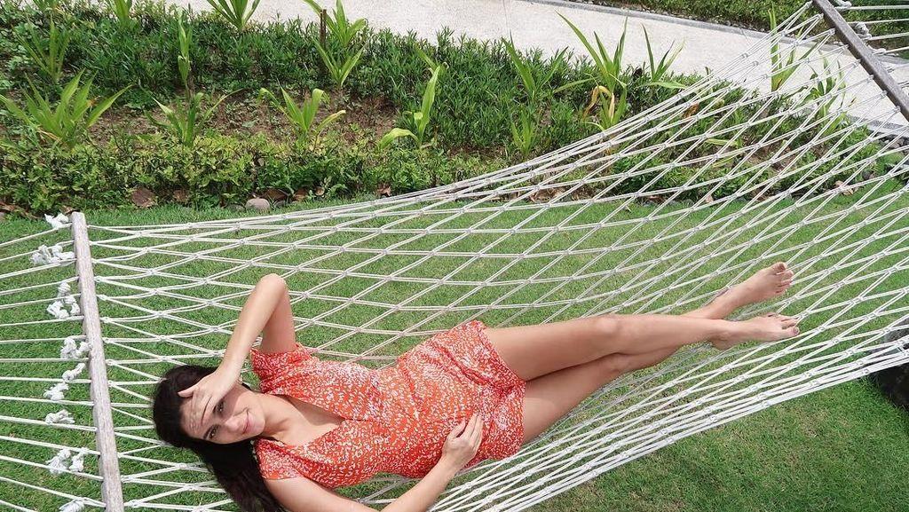 Foto: Liburannya Bumil Cantik Marissa Nasution