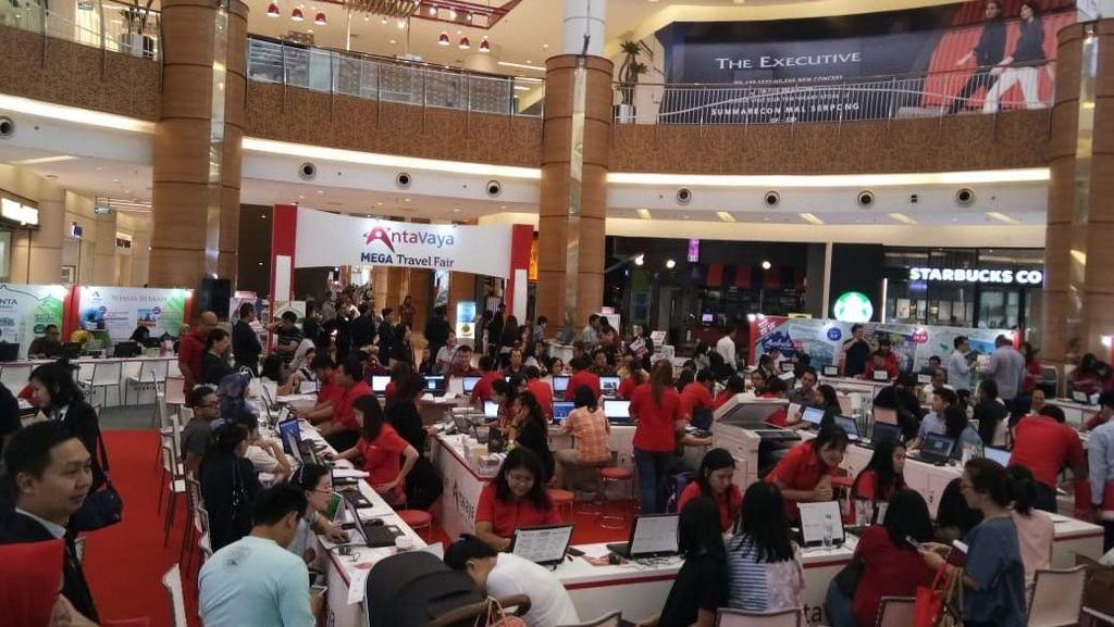 Hari Ketiga Mega Travel Fair Serpong, Ayo Serbu Promonya!