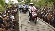 Ini Motor Listrik yang Dipakai Jokowi di Asmat
