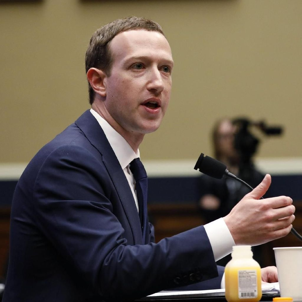 Zuckerberg Dapat Pukulan Keras dari DPR AS