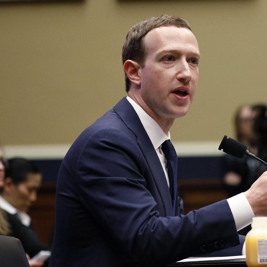 Catat, Janji Zuckerberg di Hadapan Wakil Rakyat