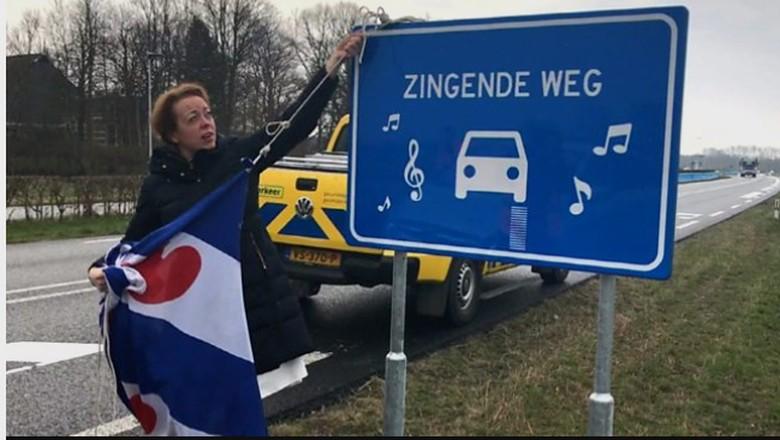 Dianggap Berisik, 'Jalan Bernyanyi' di Belanda Ditutup