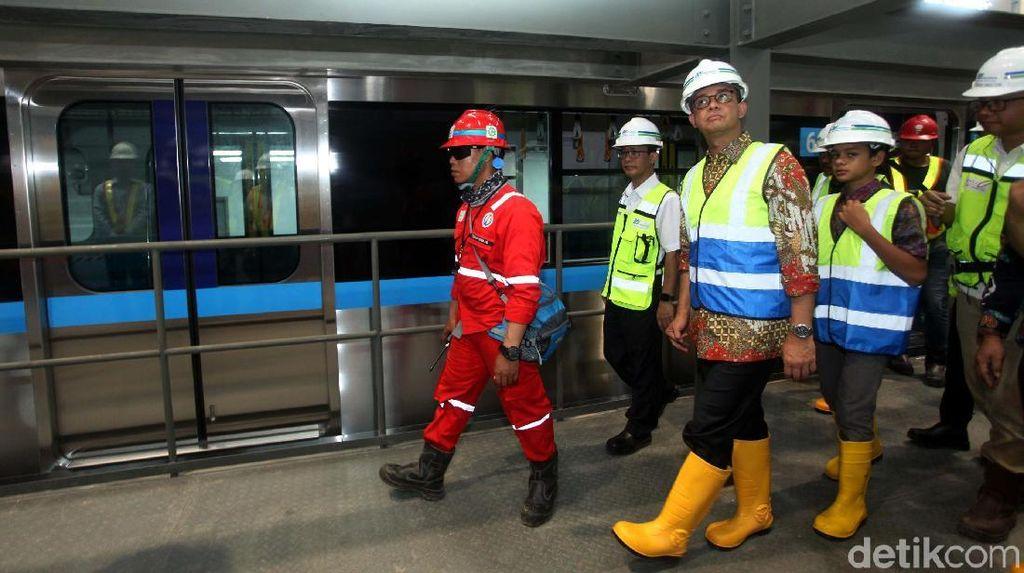 Anies Mau MRT Dipakai Masyarakat Kelas Atas hingga Bawah