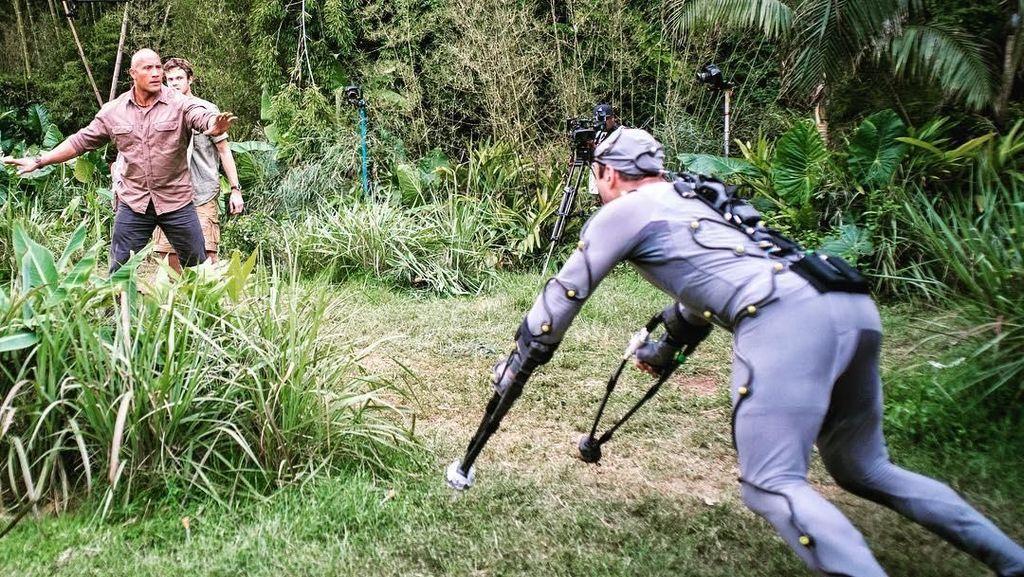 Pertarungan Monster di Rampage Libatkan Efek CGI
