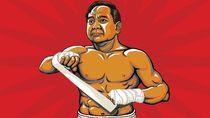 Prabowo Telanjang Dada Vs Jokowi Berjaket Touring