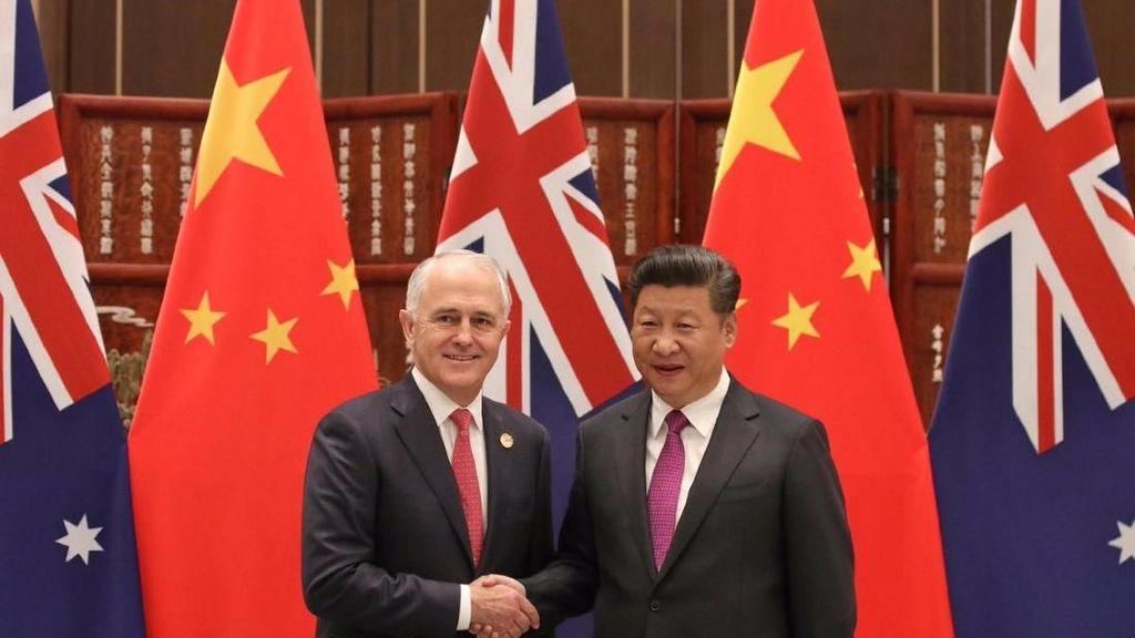 PM Australia Akui Hubungan dengan China Tegang karena UU Spionase