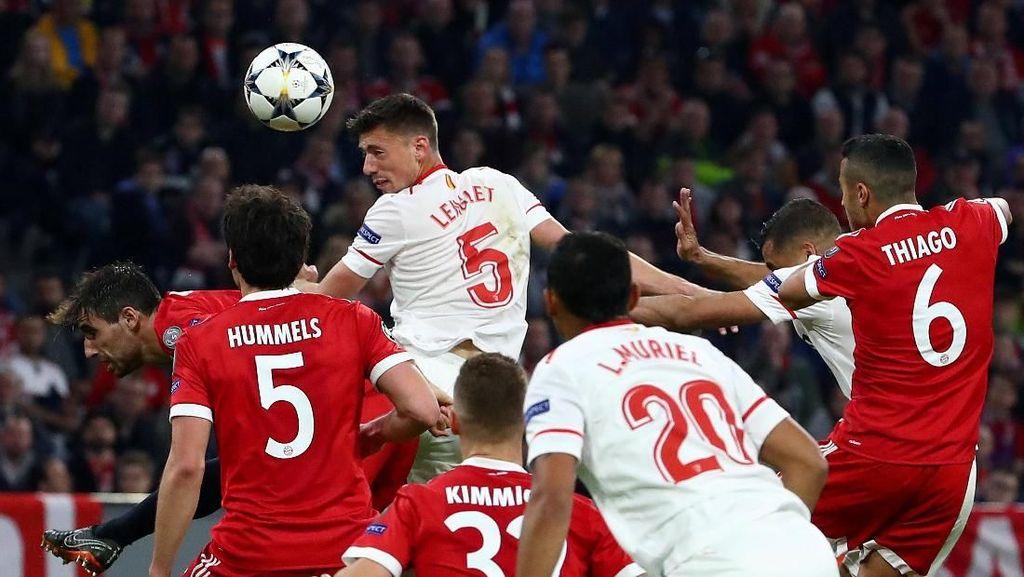 Seri Tanpa Gol dengan Sevilla, Bayern ke Semifinal