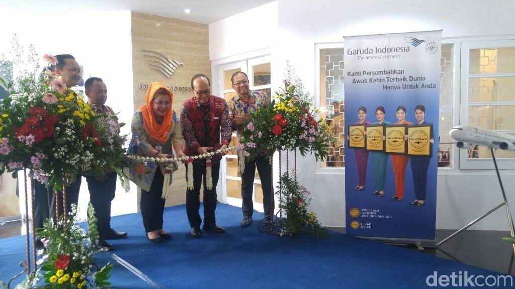 Garuda Indonesia Ingin Buka Penerbangan Langsung Semarang-China