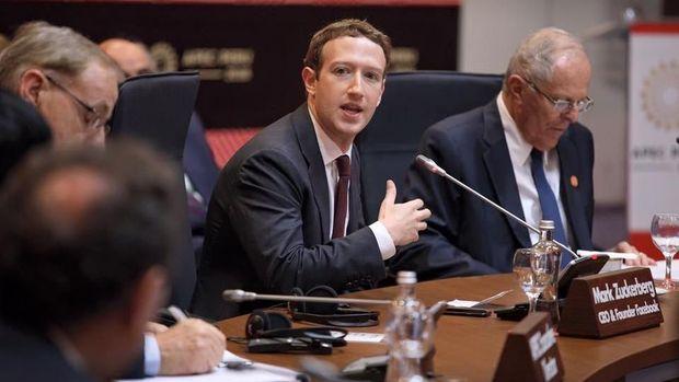 Disidang DPR AS 10 Jam, Zuckerberg 'Kantongi' Rp 41 Triliun