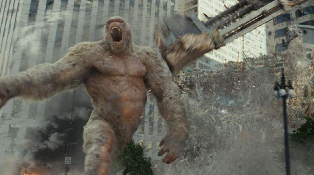 Rampage Masih di Deretan Atas Peringkat Box Office