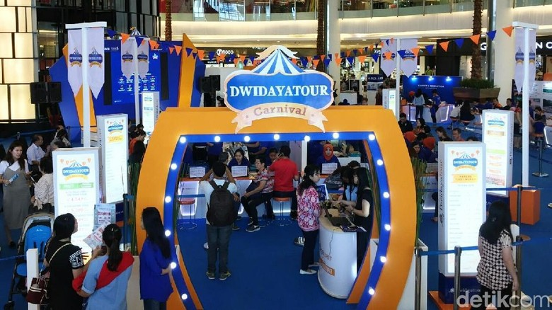 Travel Fair Dwidaya (Kurnia/detikTravel)