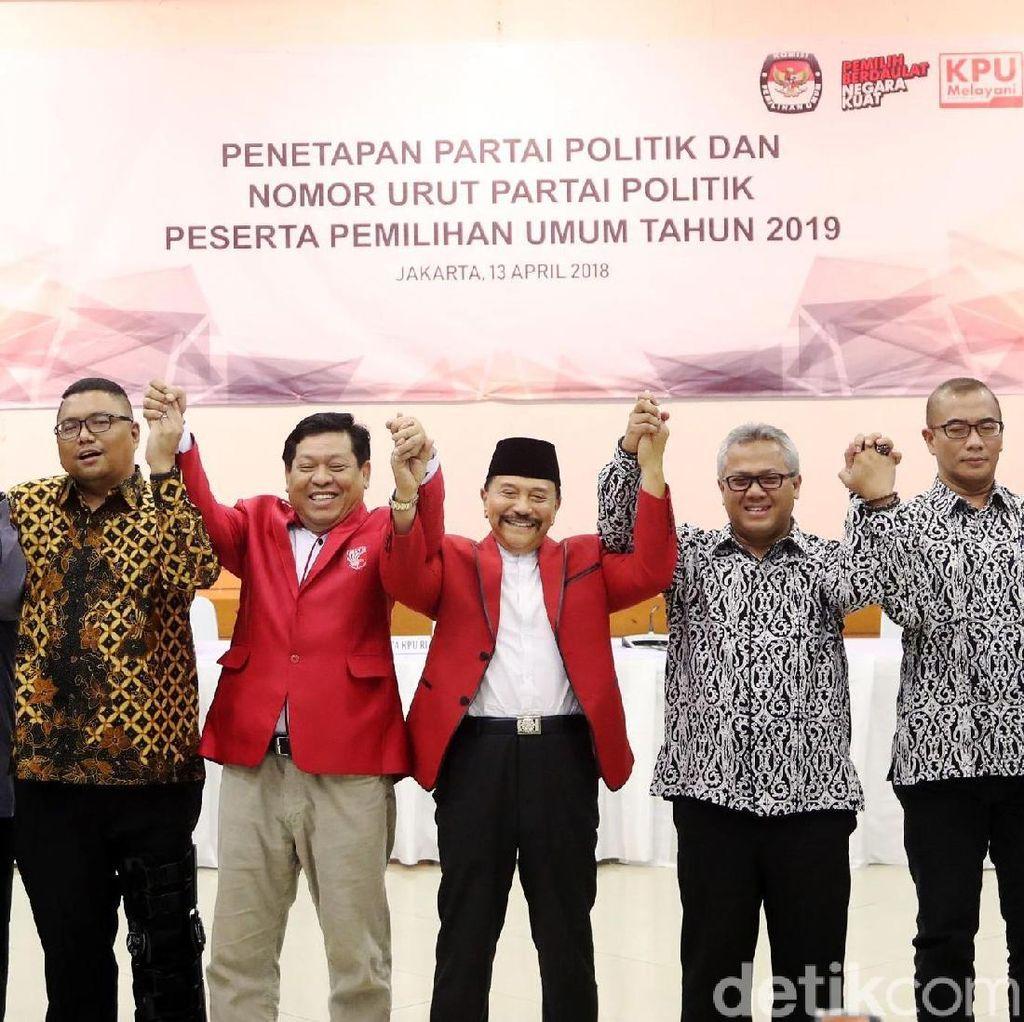 KPU Setop Perlawanan Hukum, PKPI Tetap Peserta Pemilu 2019