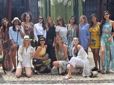 Finalis Miss Universe 2015: Semoga Makin Banyak Turis ke Indonesia