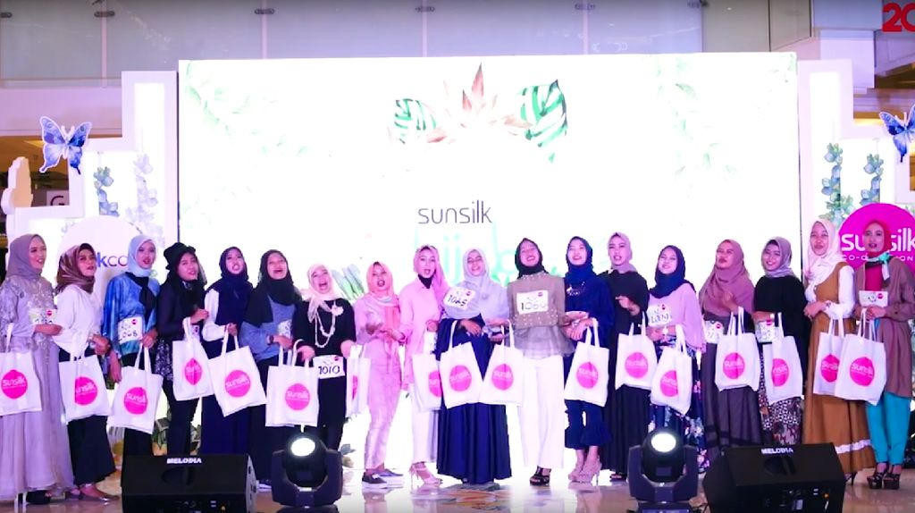 Berbagai Bakat Warnai Audisi Sunsilk Hijab Hunt 2018 di Surabaya