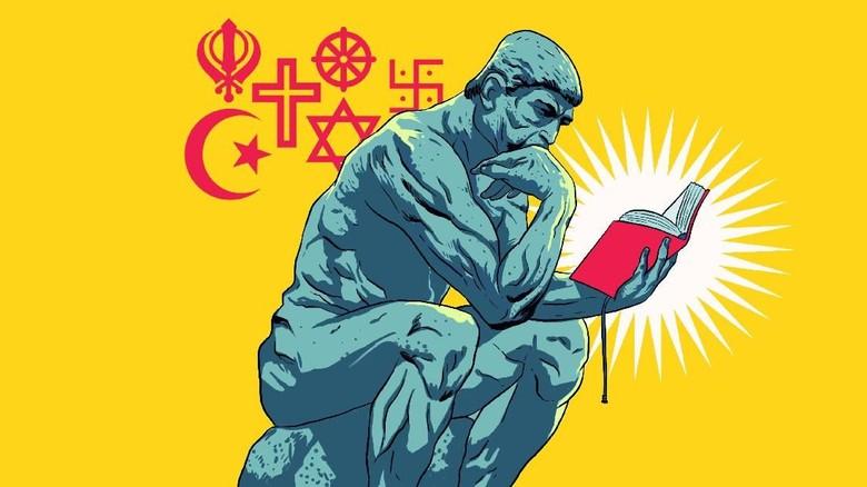 Iman, Fiksi, Filsafat