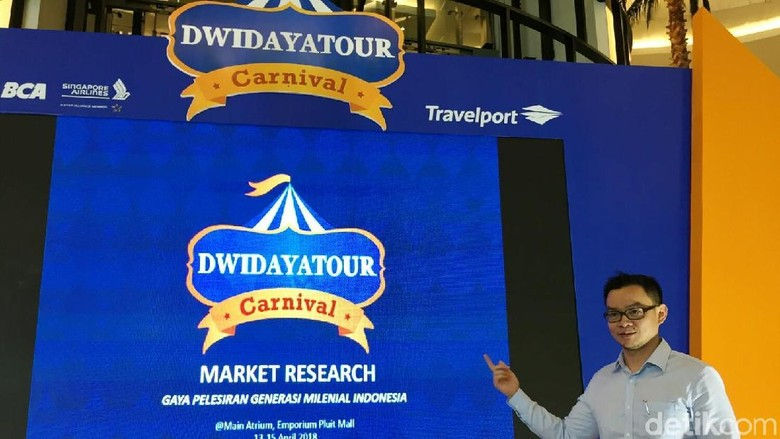 Foto: Hendriyapto, VP Commercil Dwidayatour (Kurnia/detikTravel)