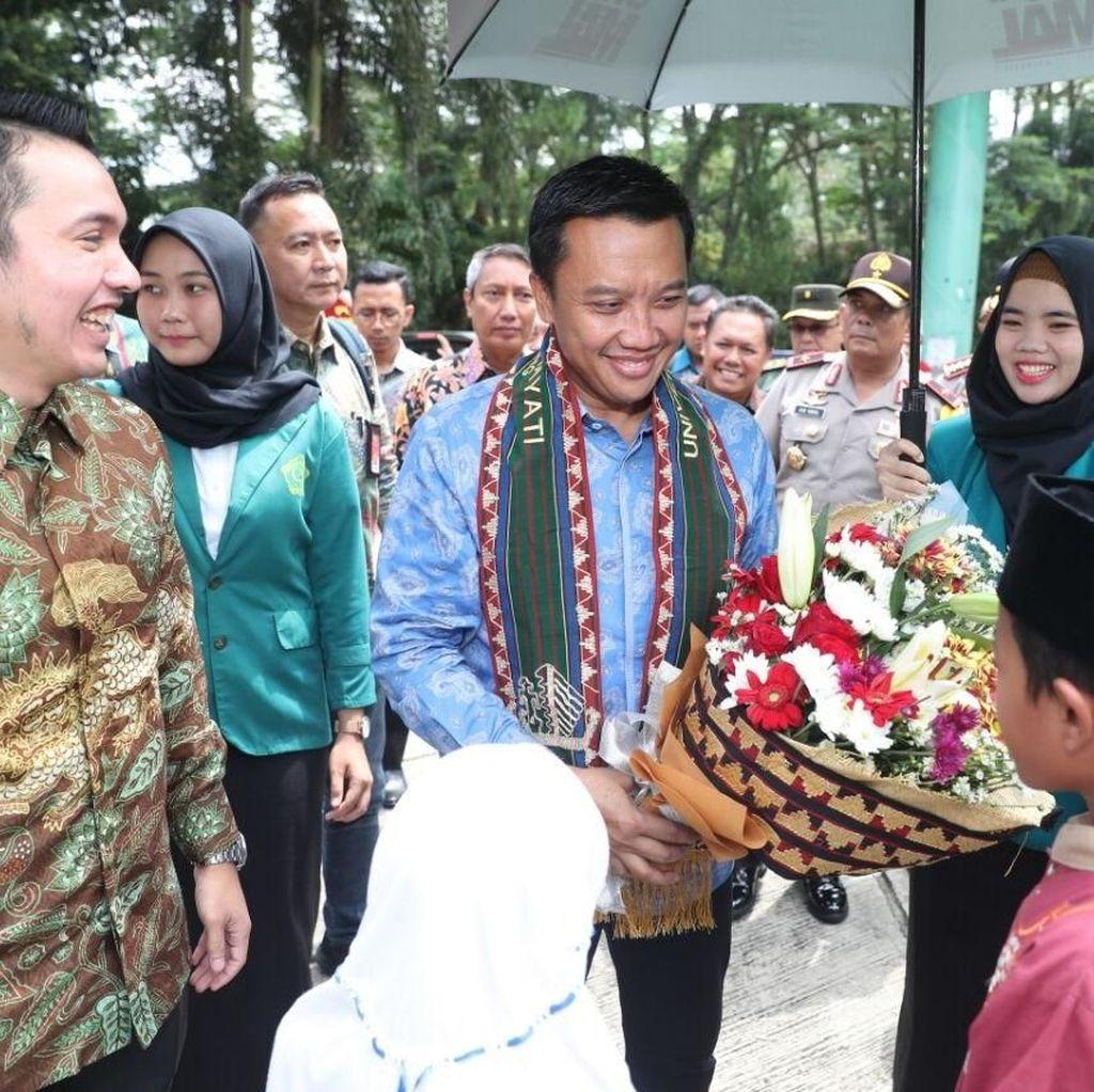 Di Lampung, Menpora Sosialisasi Asian Games dan APG 2018