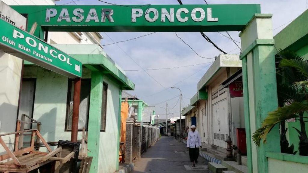 Bangunan Mal Aset Pemkot Pasuruan Mangkrak, Pasar Poncol Ikut Sepi