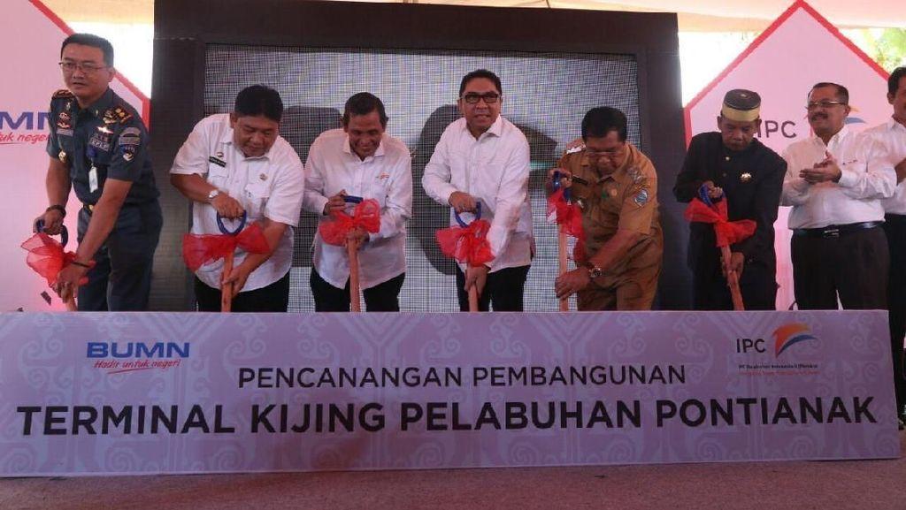 Pelindo II Bangun Pelabuhan Terminal Tanjung Pura