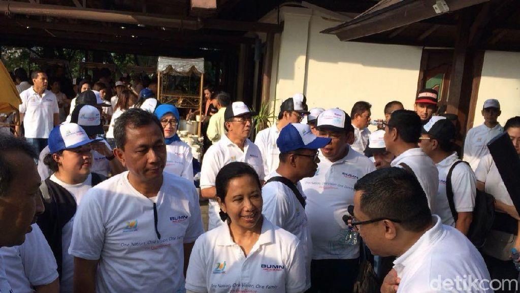 Ke Bogor, Rini Rayakan HUT ke-20 Kementerian BUMN