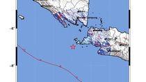 Gempa 4,9 SR di Pandeglang, Tak Berpotensi Tsunami