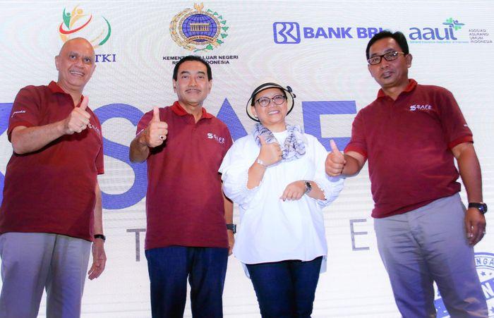 BRI dengan Kemenlu menggelar festival bertema The Safe Travel Fest 2018 yang berlangsung di Central Park Mall, Jakarta, pada 11 hingga 15 April 2018.Foto: dok. BRI