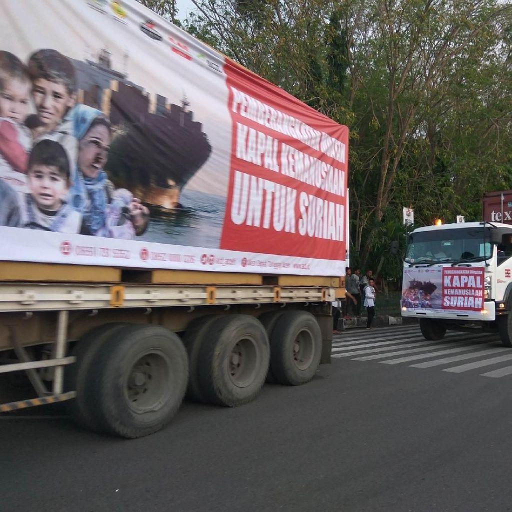 MentanApresiasi Bantuan ACT ke Suriah: Semoga Beri Energi Positif