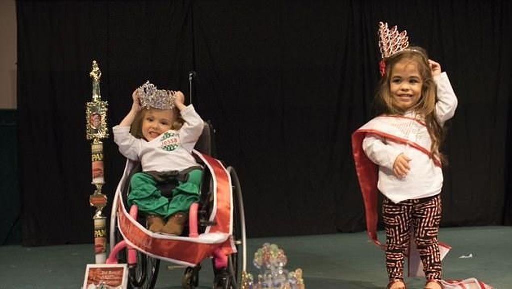 Disabilitas Fisik Tak Halangi Kakak Beradik Ini Berprestasi