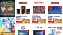 Ada Diskon Bluetooth Speaker dan TV LED di Sini
