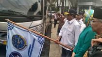 Menhub Sosialisasi Ganjil Genap di Tol Bareng Walikota Tangerang