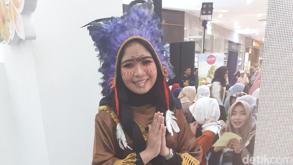 Model Berhijab Nazar Santuni Anak Yatim Jika Menang Sunsilk Hijab Hunt 2018