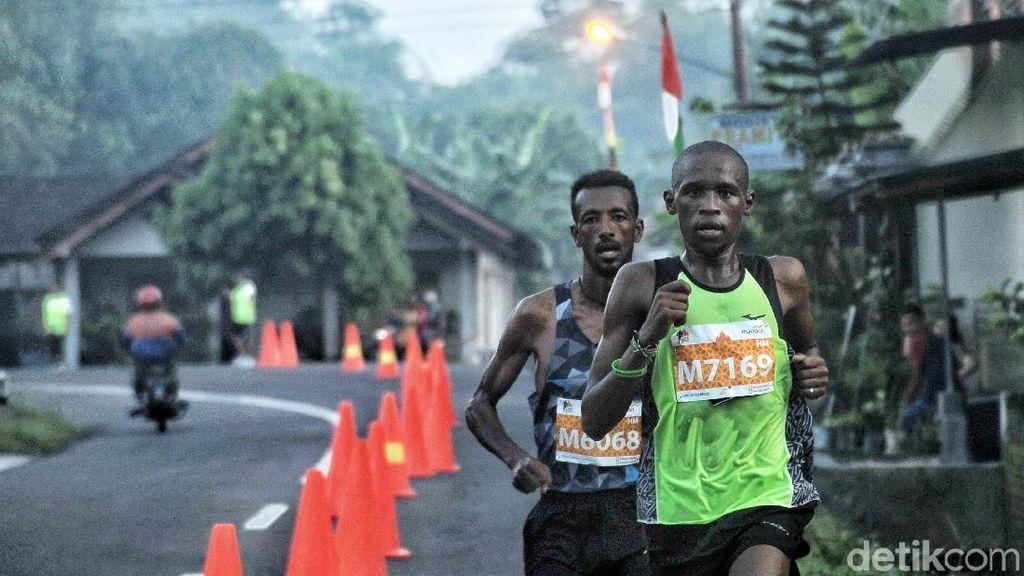 Pelari Kenya Dominasi Juara di Mandiri Jogja Marathon 2018