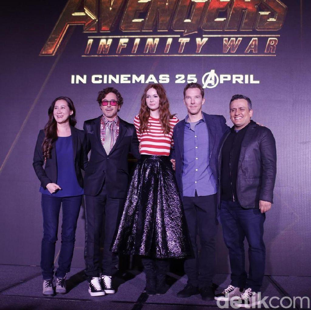 Ngobrol Bareng Bintang Infinity War dan Joe Russo