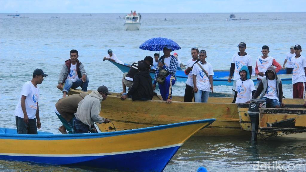 Maksaira, Festival Memancing di Kepulauan Sula Resmi Dibuka, Seru!