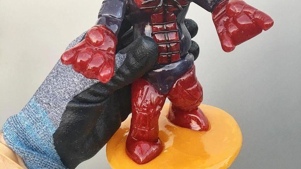 Kreatif! Ini Permen 3D Bentuk Batman dan Spiderman yang Menggemaskan