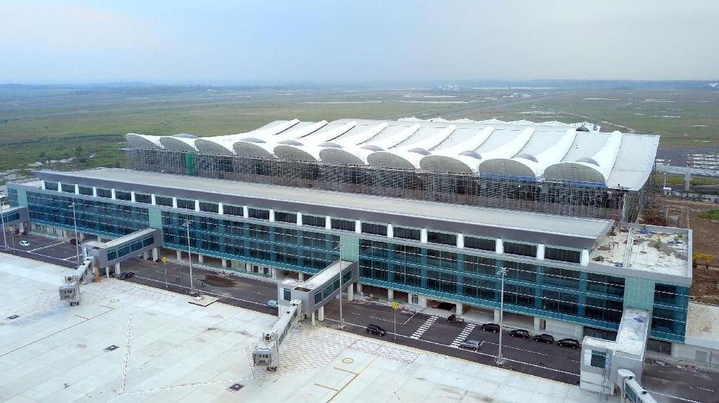 Cantiknya Bandara Kebanggaan Jabar Dilihat dari Udara