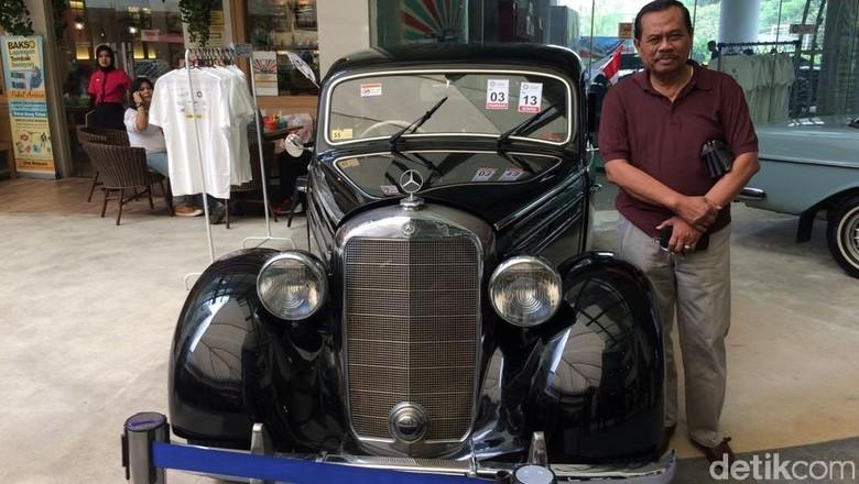 Jaksa Agung M Prasetyo Penikmat Mobil Klasik