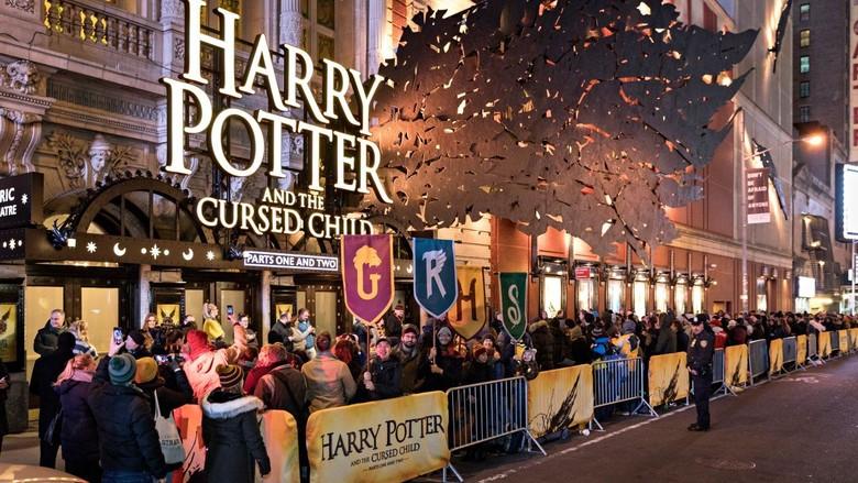 Pertunjukan Teater Harry Potter di New York Habiskan Dana Rp 931 M